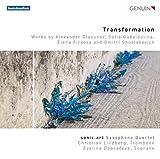 Transformation : uvres pour quatuor de saxophones. Dobraceva, Lindberg, Sonic.art.
