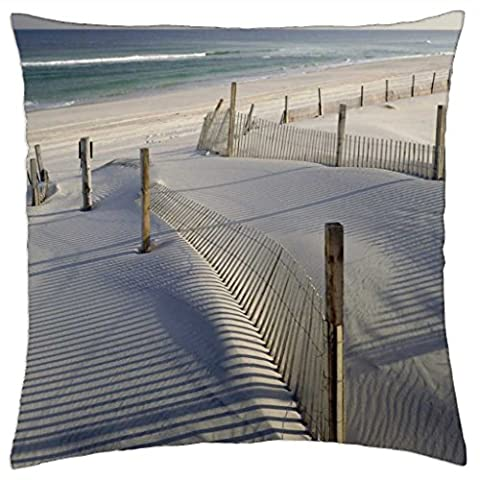 Tranquil Sand Dunes 1 - Throw Pillow Cover Case (18