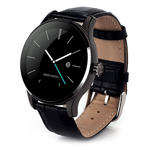 yisi-bluetooth-40-smart-watch-heart-rate-monitor-wristwatch-for-android-ios-black-leather-band