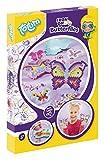 Totum-Creativity Bastel-Set, Bügelperlen Schmetterlinge mit Bügelperlschablone und über 1500 Bügelperlen