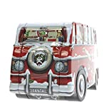 Fosters Traditional Foods Ltd Christmas Camper Van Tin with Clotted Cream Fudge and Toffee 340 g