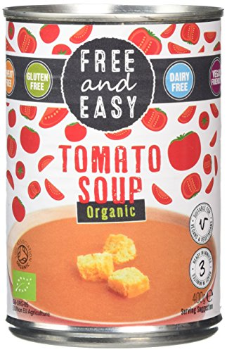 Free and Easy Organic Tomato Soup, 400 g, Pack of 6