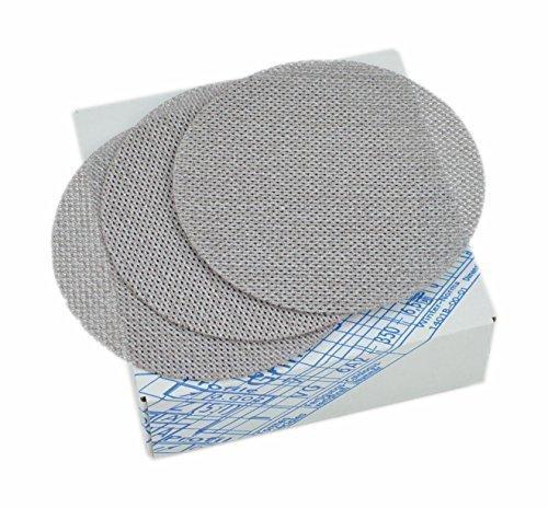 Schleifscheiben Schleifgitter Schleifnetz Ø150mm K600 Supersand (25 Stück im Set)