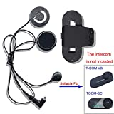 FreedConn Auriculares Para Casco Moto Intercom Talkie accesorio Clip y...