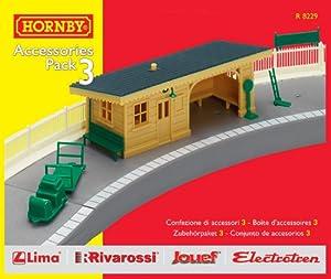Hornby R8229 00 Gauge Building Extension Pack 3
