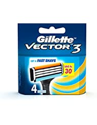 Gillette Vector 3 - 4 Cartridges
