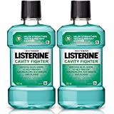 Listerine Cavity Fighter Mouthwash 500ml (Pack of 2)