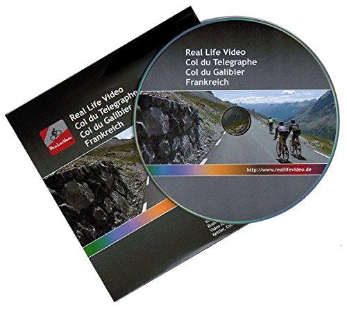 Real Life Video - Col du Galibier (für Tacx, Daum, Kettler, CycleOps und Cyclus 2)