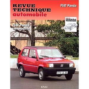 Revue Technique Automobile, CIP 715.1 : Fiat Panda tous modèles