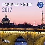 Nouvelles Images Calendrier 2017 Paris La nuit 16 mois 14,5 x 14,5 cm...