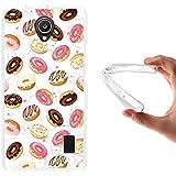 WoowCase - Funda Gel Flexible { Huawei Ascend Y635 } Donuts Carcasa Case Silicona TPU Suave