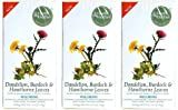 (3 PACK) - Heath And Heather - Dandelion Burdock & Hawthorn | 20 Bag | 3 PACK BUNDLE