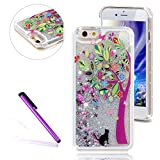 Best GENERIC 5c Phone Cases - Generic Glitter Liquid Angel Girl Floating Stars Moving Review