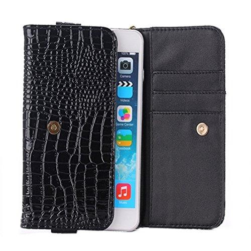Phone case & Hülle Für IPhone 6 Plus / 6S Plus, Ultra-dünne schützende Leder zurück Fall Fall ( Color : Black ) Black