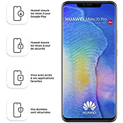 "Huawei Mate 20 Pro 16,2 cm (6.39"") 6 GB 128 GB Dual SIM ibrida 4G 4200 mAh, Colore : Blu (Midnight Blue)"