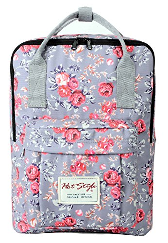 Imagen de hotstyle bestie  escolares estampada 37x27x14cm  para notebook 14 pulgadas  rose alternativa