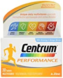 CENTRUM ADVANCE Performance Multivitamin Tablets, Pack of 30