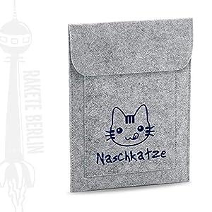 Tablet Filzhülle 'Naschkatze'