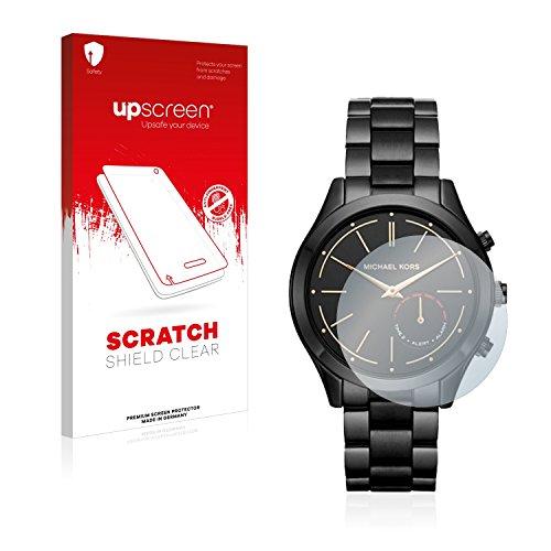 upscreen Scratch Shield Schutzfolie für Michael Kors Access Slim Runway (42 mm) - Kristallklar, Kratzschutz, Anti-Fingerprint