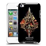 Head Case Designs Offizielle Assassin's Creed Waffen Und Fahnen Verband Logo Kunst Harte Rueckseiten Huelle kompatibel mit Apple iPod Touch 4G 4th Gen
