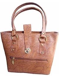 Lyonic Stylish And Fashionable PU Leather Handbag / Shoulder Bag / Purse For Women/Girls/Ladies