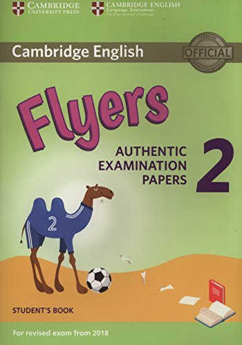 Cambridge English Young Learners 2 for Revised Exam from 2018 Flyers Student's Book (Cambridge Young Learners Engli) por Not available