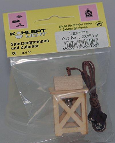 Kahlert Licht 10338 Spiegel mit Beleuchtung Minipuppenzubehör