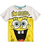 Sponge Bob Jungen T-Shirt - weiß - 140