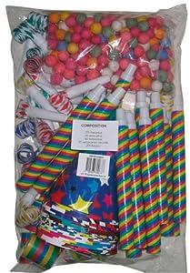 Party Pro-Kit de cotillons 20personas, unisex-adult, 40130539, todas las