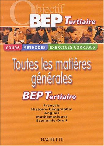 Objectif BEP Tertiaire par Michel Corlin, Brigitte Lallement, Jean-Claude Landat, Sylvie Lefebvre