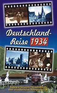 Deutschland-Reise 1934 [VHS] [Import allemand]