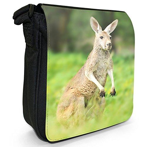 Fancy A Snuggle, Borsa a tracolla donna Känguru wachsam & auf Ausschau