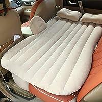 Viajes colchón inflable universal Cama para el asiento trasero multi funcional Sofá,Negro