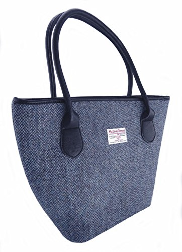 Ladies 100% Harris Tweed Tote Bag 8 Colours Available New LB1008 (COL 2)