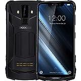 DOOGEE S90 - Outdoor Android 8.1 Smartphone (5050mAh Batterie), Helio P60 Achtkern 6GB+128GB, 6.18'' FHD + Bildschirm, IP68/IP69K wasserdicht/stoßfest, 16MP+8MP Smart AI Kamera - Schwarz