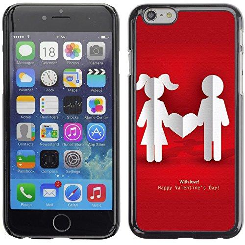 Graphic4You Cupids Arrows Design Harte Hülle Case Tasche Schutzhülle für Apple iPhone 6 Plus / 6S Plus Design #6