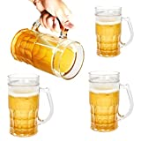#8: Iktu Unique Beer Filled Freezing Mug - Holds 13 oz, Insulated Plastic, Chillable, Beer Filled Illusion (Silly) - 385 ml (1 Piece)