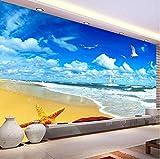 Yirenfeng Kundenspezifisches Wandbild Kein Teelicht-Dekorations-Papier-Dekorations-Papier 3D-Bild-Glasperlen-Blumen-Bild 3D Foto-Papier-Pintado300X200cm