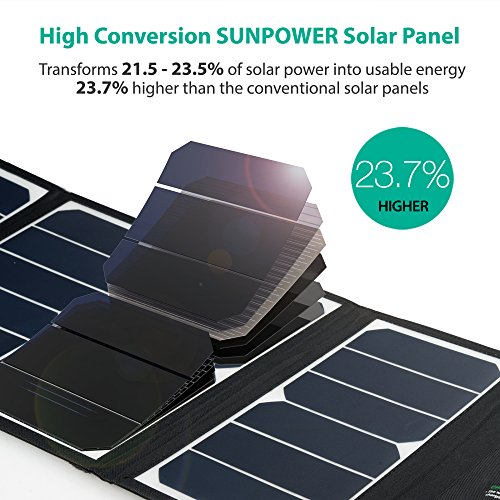 RAVPower-UK-RP-PC005B-Solar-Charger-24W-Solar-Panel-with-Triple-USB-Ports-Waterproof-Foldable-for-Smartphones-Tablets-and-Camping-Travel
