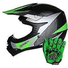 Leopard LEO-X19 Casco de Motocross para Niños Bicicleta Motocicleta ATV Patio ECE 22-