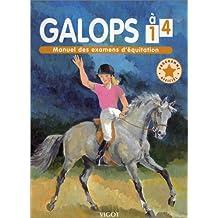 Galops 1 à 4. Edition 2001