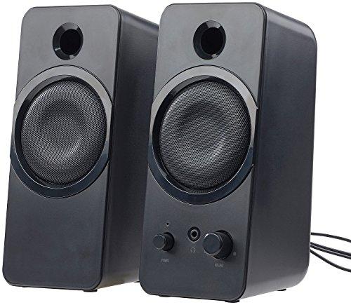 auvisio PC Boxen: Aktive Stereo-Lautsprecher MSX-150 mit USB-Stromversorgung, 20 Watt (Notebooklautsprecher)