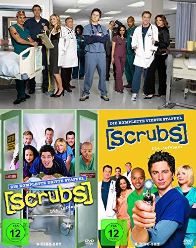 Scrubs: Die Anfänger - Die komplette 3. + 4. Staffel (8-Disc / 2-Boxen)