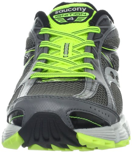 Saucony Running Grid Ignition 4, Chaussures Homme Gris