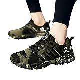 Geili Herren Sneaker Turnschuhe Fashion Camouflage Atmungsaktiv Mesh Sportschuhe Schnürschuhe Laufschuhe Übergrößen Freizeit Flache Schuhe