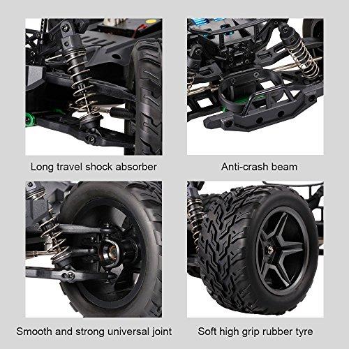 h cepillado motor el/éctrico veh/ículos todoterreno bater/ía recargable RC Car RTR GoolRC C12 auto control remoto coche RC 2.4GHz 2WD 1//12 velocidad a 35km