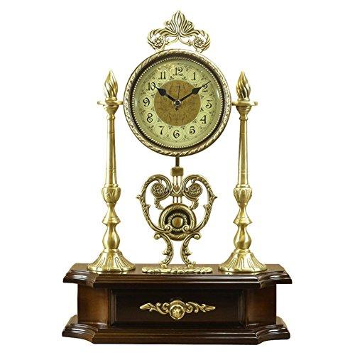 Orologio muto in ottone massiccio europeo/Swing American vintage impostare orologio-B 10pollice
