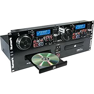 Numark CDN77USB Professional Dual USB and MP3 CD player