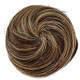 PRETTYSHOP 100% Capelli Updo Ballerina Knoten Donut Bun Top Knot Scrunchie parrucchino coda di cavallo Diversi Colori H311k