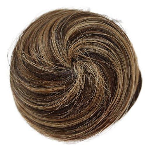 PRETTYSHOP 100% cheveux humains Chignons Chouchou postiche Différentes couleurs